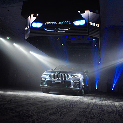 THE X6 <br /> NOUVELLE BMW X6