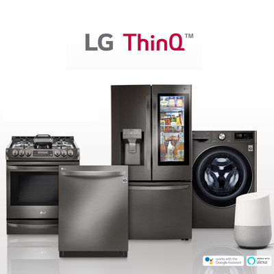 LG THINQ AI <br /> SMART VILLA