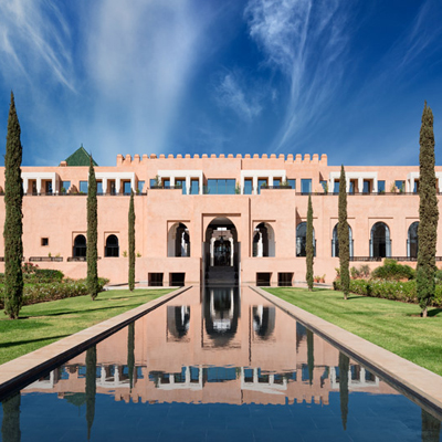 THE OBEROI, MARRAKECH <br />UN NOUVEAU SACREMENT