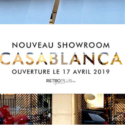 RETROPLUS SIGNATURE <br /> NOUVEAU SHOWROOM