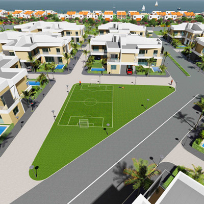ANFA REALTIES <br />PROJET BEACHFRONT