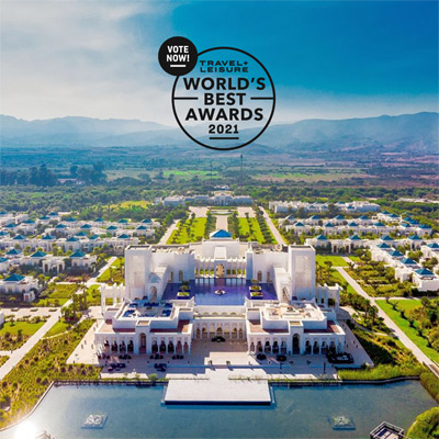 BANYAN TREE TAMOUDA BAY <br />WORLD'S BEST AWARDS 2021