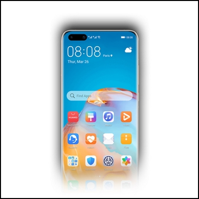 HUAWEI Y9a <br />WIDGET PETAL SEARCH