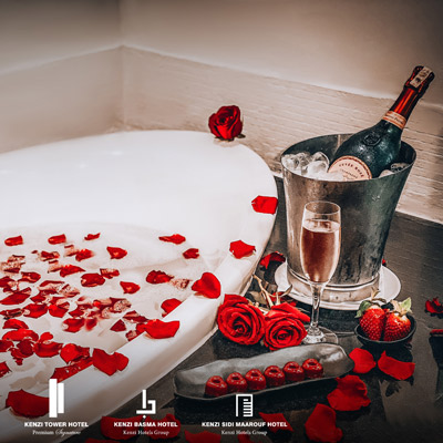 KENZI HOTELS GROUP <br />SAINT VALENTIN