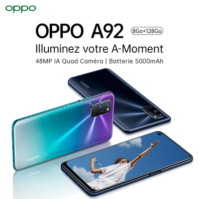 OPPO  <br />A92